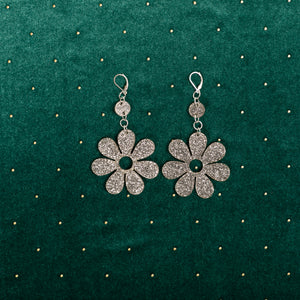 The Hazey Dazey Dot & Chain Earrings,EarringMindFlowers