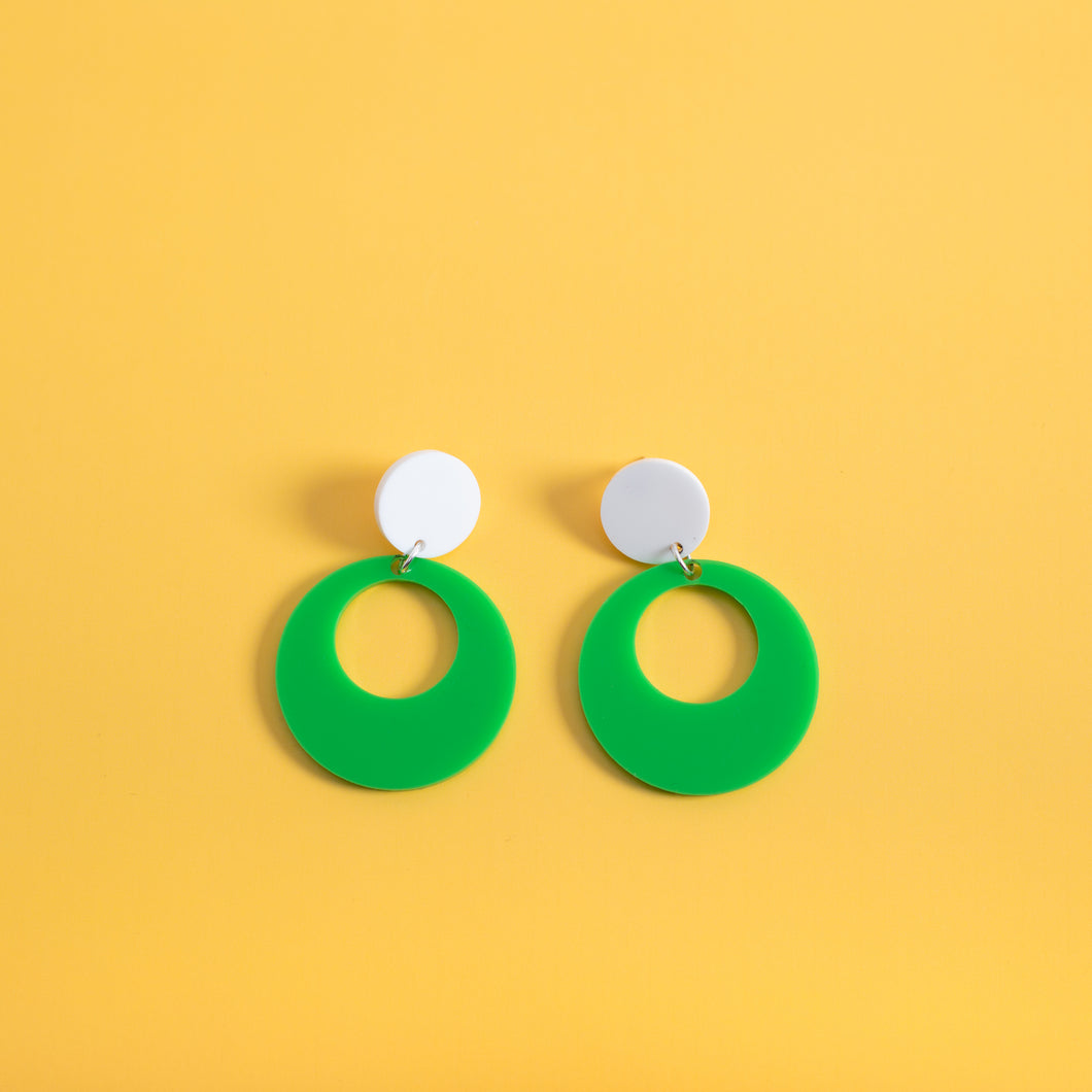 Oh Mod! Hanging Stud Earrings,EarringMindFlowers