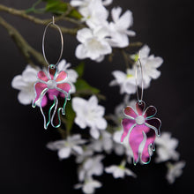 Load image into Gallery viewer, MindFlower Hoop Earring,EarringMindFlowers