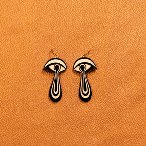 The Mind's Eye Hoop Earrings