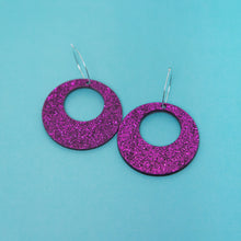 Load image into Gallery viewer, Oh Mod! Hoop Earrings,EarringMindFlowers