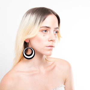Modtastic Hoop Earrings,EarringMindFlowers