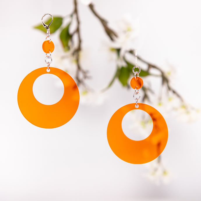 Oh Mod! Dot & Chain Earrings,EarringMindFlowers