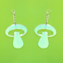 Load image into Gallery viewer, The Alice Mushroom Chain Earrings,EarringMindFlowers