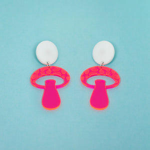 The Mooshroom Stud Earrings,EarringMindFlowers