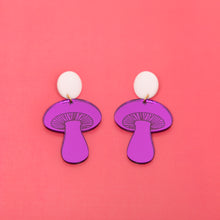 Load image into Gallery viewer, The Gilly Mushroom Stud Earrings,EarringMindFlowers