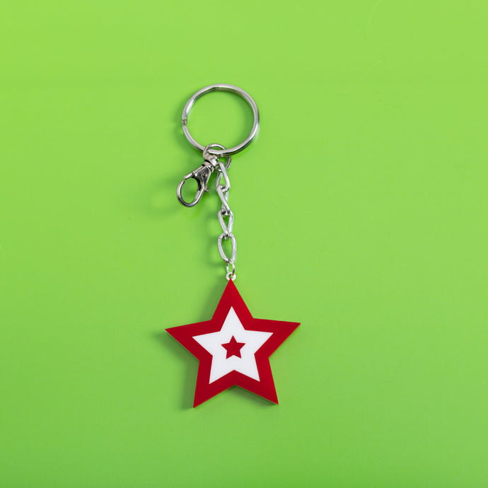 Seeing Star Keychain,FlairMindFlowers