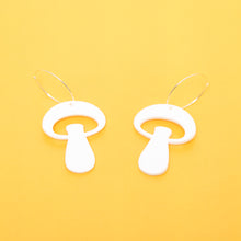 Load image into Gallery viewer, The Alice Mushroom Hoop Earrings,EarringMindFlowers