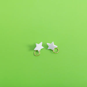 Lucky Star Stud Earrings,EarringMindFlowers