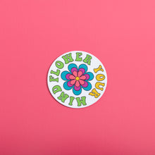 Load image into Gallery viewer, Flower Your Mind Sticker,FlairMindFlowers