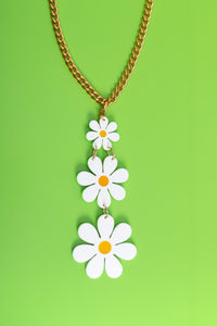 Charlie's Daisies Necklace,Necklace CharmMindFlowers