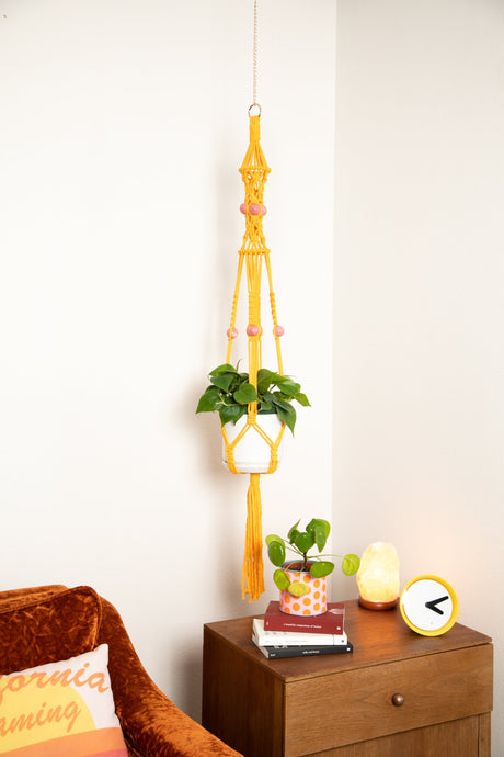 The Lily Macrame Plant Hanger