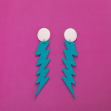 Load image into Gallery viewer, The ZiggyIggy Bolt Stud Earrings,EarringMindFlowers