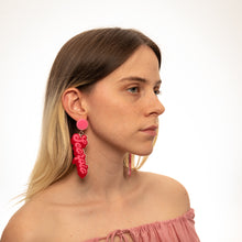 Load image into Gallery viewer, The Scorpio Word Hanging Stud Earrings,EarringMindFlowers