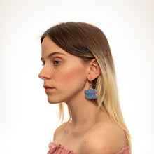 Load image into Gallery viewer, The Aquarius Sign Dangle Earrings,EarringMindFlowers
