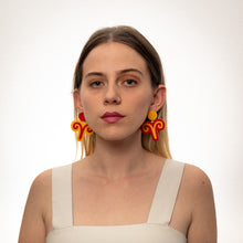 Load image into Gallery viewer, The Aries Sign Hanging Stud Earrings,EarringMindFlowers