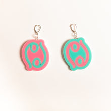 Load image into Gallery viewer, The Cancer Sign Dangle Earrings,EarringMindFlowers