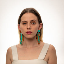 Load image into Gallery viewer, The Capricorn Word Hanging Stud Earrings,EarringMindFlowers