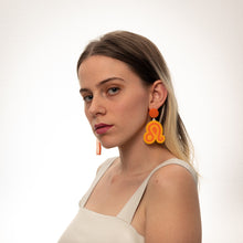 Load image into Gallery viewer, The Leo Sign Hanging Stud Earrings,EarringMindFlowers