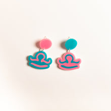 Load image into Gallery viewer, The Libra Sign Hanging Stud Earrings,EarringMindFlowers