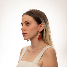 Load image into Gallery viewer, The Sagittarius Sign Dangle Earrings,EarringMindFlowers