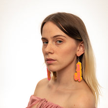 Load image into Gallery viewer, The Taurus Word Dangle Earrings,EarringMindFlowers