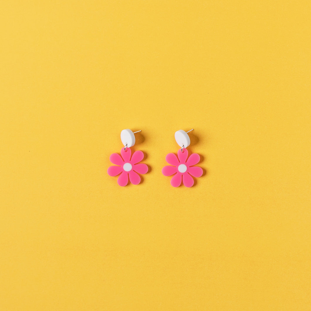 The Baby Daisy Hanging Stud Earrings