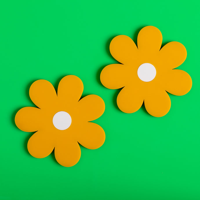 Daisy Coaster Pack of 2