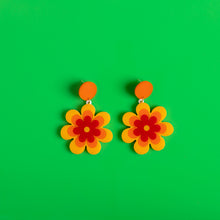 Load image into Gallery viewer, The Candy Daisy Hanging Stud Earrings