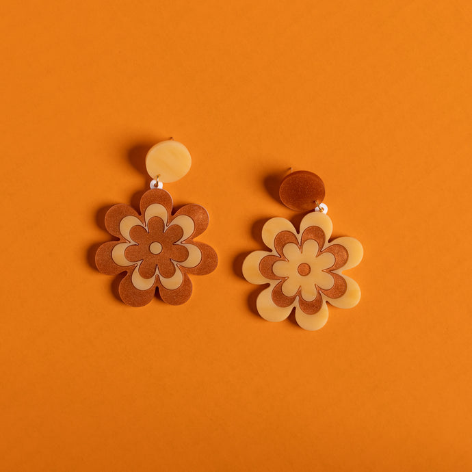 The Candy Daisy Hanging Stud Earrings
