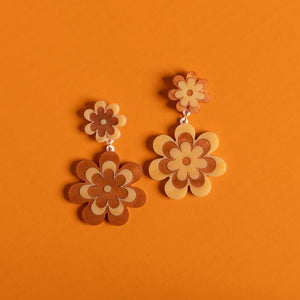 The Double Candy Daisy Stud Earrings