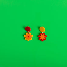 Load image into Gallery viewer, The Baby Candy Daisy Hanging Stud Earrings