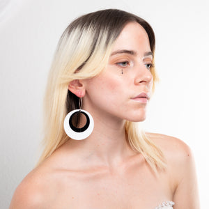 Mod Mama Hoop Earrings,EarringMindFlowers