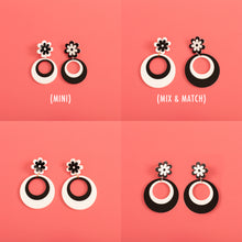 Load image into Gallery viewer, Mod Mama Daisy Stud Earrings,EarringMindFlowers