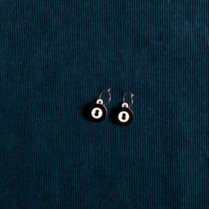 The Magic Baby 8-Ball Hoop Earring