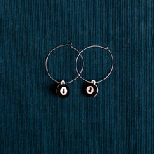 Load image into Gallery viewer, The Magic Baby 8-Ball Hoop Earring