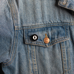The Magic Baby 8-Ball Pin
