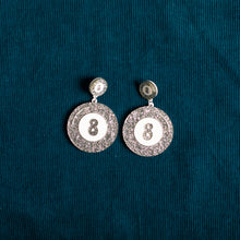 Load image into Gallery viewer, The Double Magic 8-Ball Stud Earring