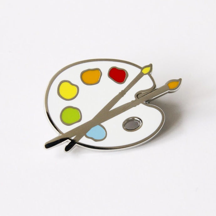 Paint Palette Enamel Pin,FlairMindFlowers