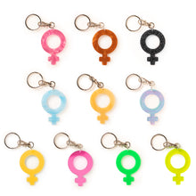 Load image into Gallery viewer, Mindflowers Venus Keychain color options collage