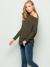 Thyme Off The Shoulder Top
