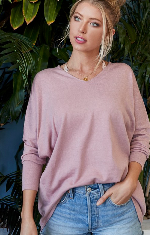 Roseate Sweater Top