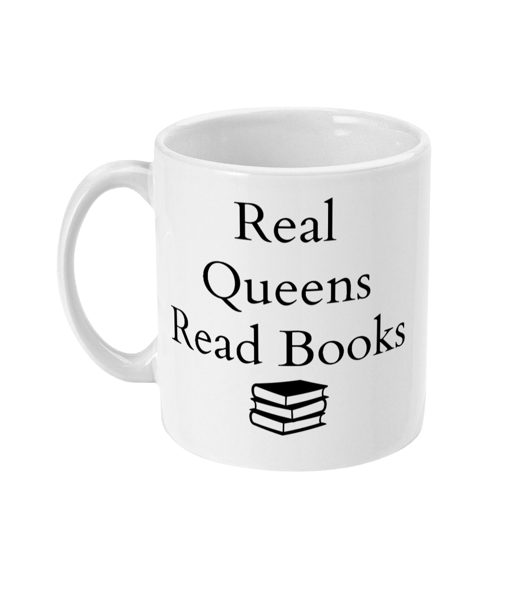 Real Queens Read Books Mug