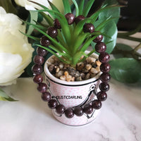 Blood Garnet Power Gemstone Bracelet