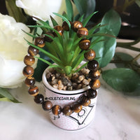 Tiger Eye Power Gemstone Bracelet