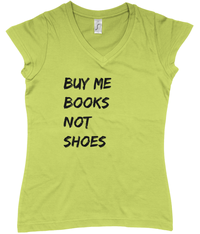 Buy Me Books V-Neck T-Shirt