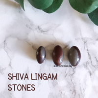 Shiva Lingam - (Set of 3) - PROSPERITY