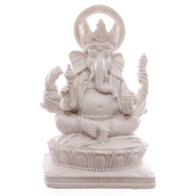Load image into Gallery viewer, White Ganesh Figurine Statue