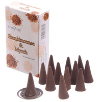 Frankincense and Myrrh - Stamford Hex Incense Cones