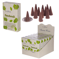 Patchouli - Stamford Hex Incense Cones